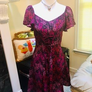 Adorable Flowy Floral Dress